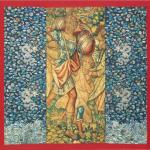 前懸「イーリアス」16世紀ベルギー製、ホメロスによって作られたと伝えられる長編叙事詩、トロイの木馬で有名